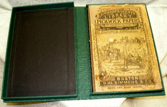 Pickwick Papers inside Clamshell Box