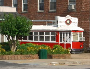 Garner's Streetcar Diner (434-432-4626), South Main at Pruden Street, in the center of town